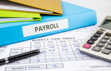 Payroll processing of hotel wages